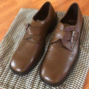 Hugo BOSS single strap monk shoes